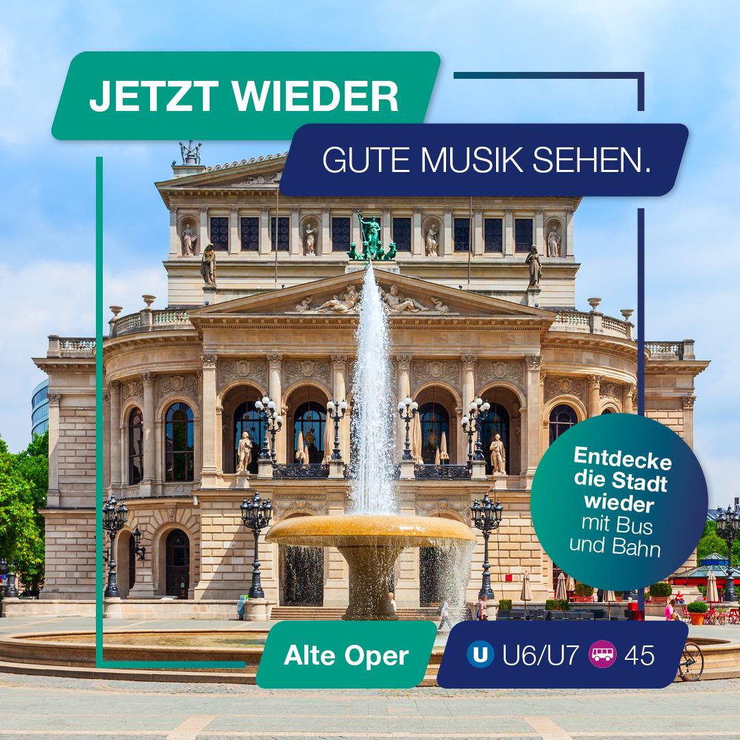 Besuch jetzt wieder die Alte Oper.
