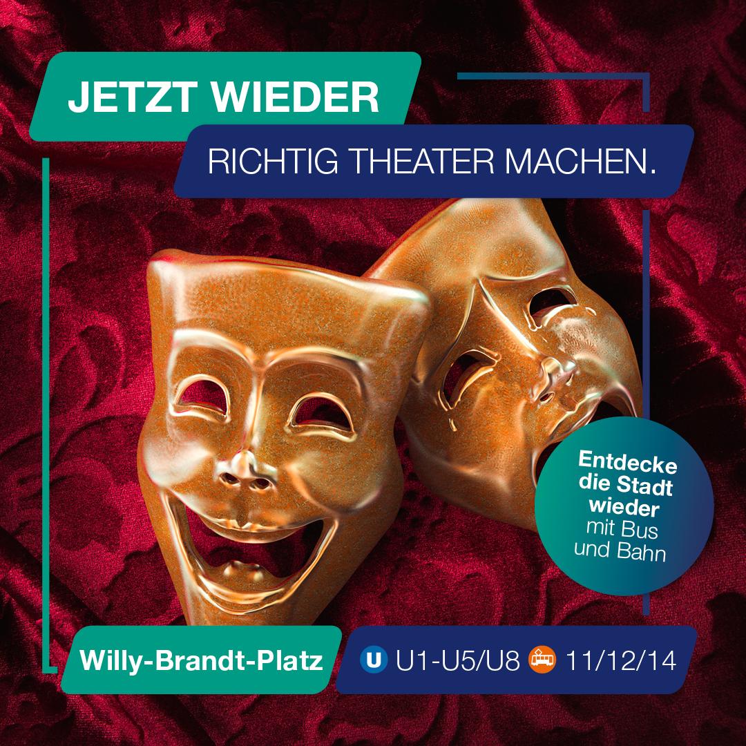 Besuch jetzt wieder das Schauspiel Frankfurt.